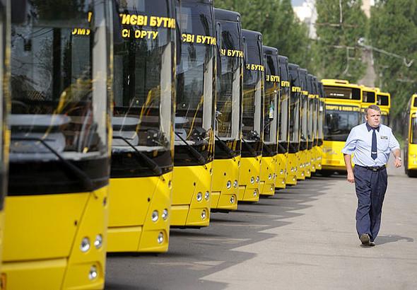 Городской автопарк пополнился 50 новыми автобусами и троллейбусами. Изображение № 1.