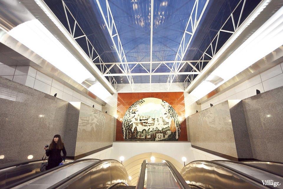 Фоторепортаж: Станции метро «Международная» и«Бухарестская» изнутри. Изображение № 3.