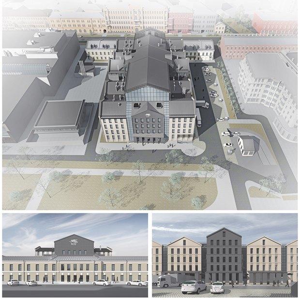 Определены сроки истоимость строительства «Театра Европы». Изображение № 10.