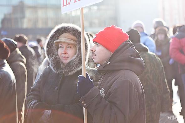 Фоторепортаж: Митинг в поддержку Путина в Петербурге. Изображение № 12.