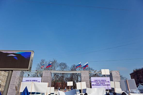 Фоторепортаж: Митинг в поддержку Путина в Петербурге. Изображение № 6.