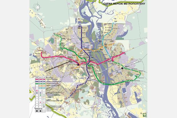 Четвёртая линия: Все проекты метро на Троещину. Зображення № 9.