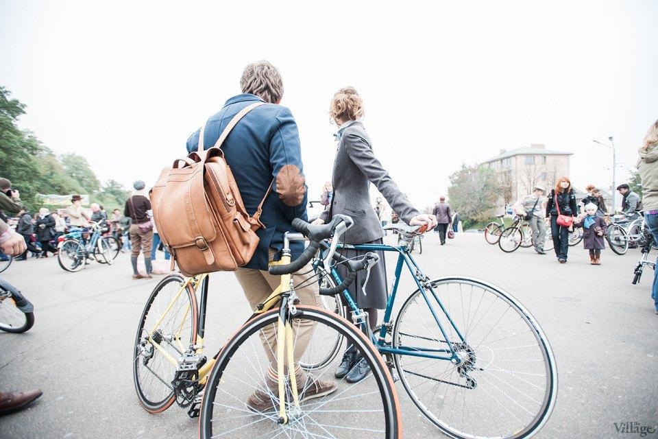 Second Time: В Киеве прошёл второй велокруиз в стиле ретро. Изображение № 9.