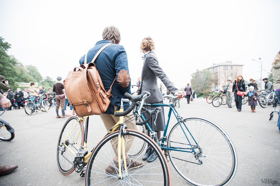 Second Time: В Киеве прошёл второй велокруиз в стиле ретро. Зображення № 9.
