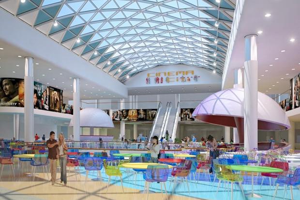 В ноябре откроют первую очередь Ocean Plaza. Изображение № 2.