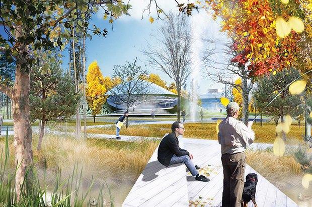 Парк в Зарядье: Проекты победителей и мнения экспертов. Изображение № 12.