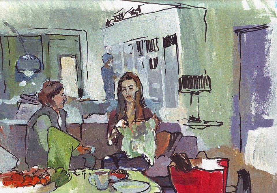 Клуб рисовальщиков: Новогодние каникулы. Изображение № 11.