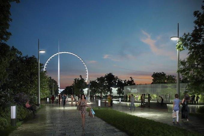 В Москве хотят построить самое большое вмире колесо обозрения. Изображение № 3.