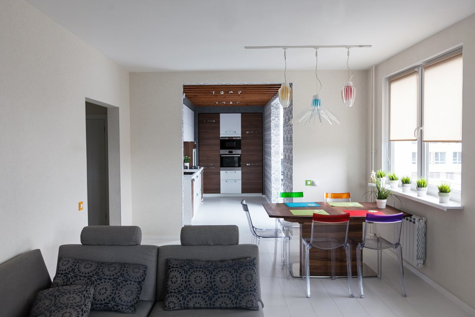 Квартира для семьи с двумя детьми. Изображение № 8.