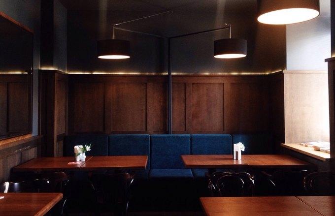 В кинотеатре «Пионер» после ремонта открылось обновлённое кафе «Пион». Изображение № 1.