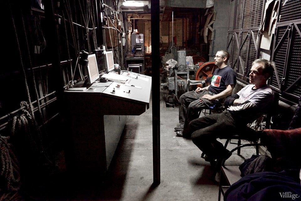Фоторепортаж: Вторая сцена Мариинского театра изнутри. Изображение № 41.