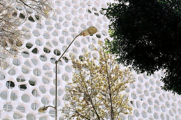 Иностранный опыт: Как фасад здания очищает воздух в Мехико. Изображение № 6.