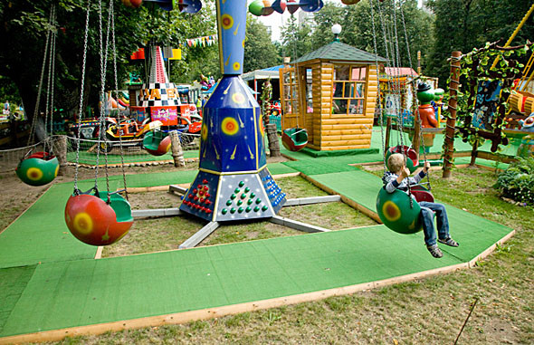 Карусель-карусель: 6 московских парков аттракционов. Изображение № 68.