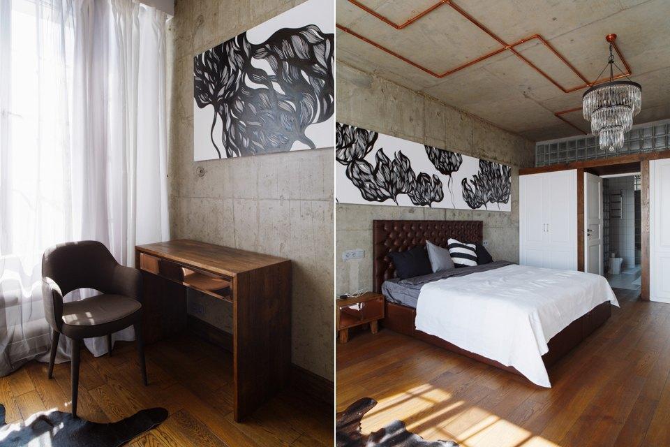 Трёхкомнатная квартира виндустриальном стиле. Изображение № 22.