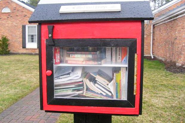 Идеи для города: Публичные библиотеки-скворечники. Изображение № 11.