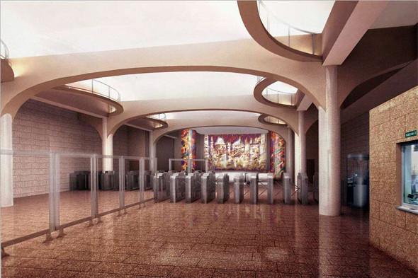 Станция метро «Бухарестская». Изображение № 3.