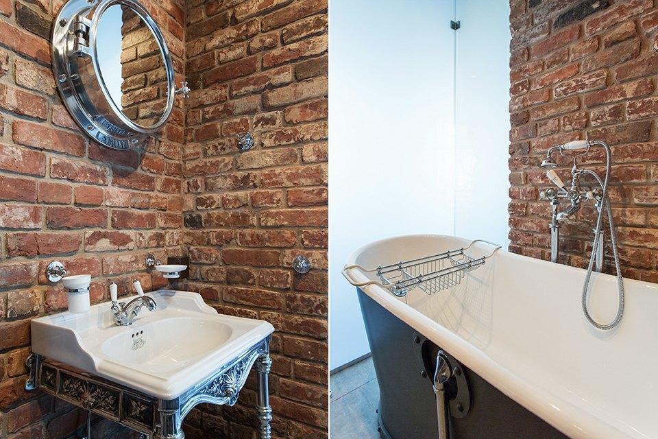 Лофт со стеклянной ванной комнатой на«Парке культуры» . Изображение № 24.