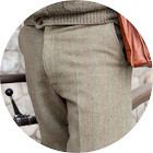 С твидом на город: Участники первого «Ретрокруиза»— о своей одежде и велосипедах. Изображение №25.
