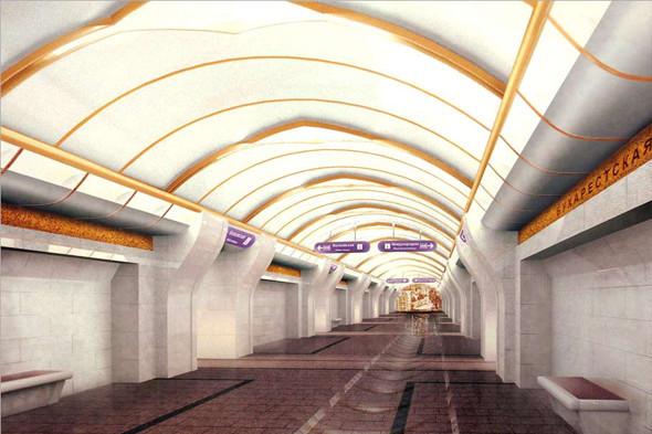 Станция метро«Бухарестская». Изображение № 4.