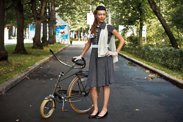 Люди в городе: Участницы парада «Леди на велосипеде». Изображение №40.