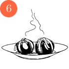 Рецепты шефов: Олхори долма (фаршированная слива). Изображение № 8.