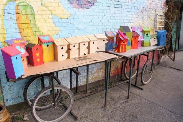Идеи для города: Скворечники из мусора вДании. Изображение №4.