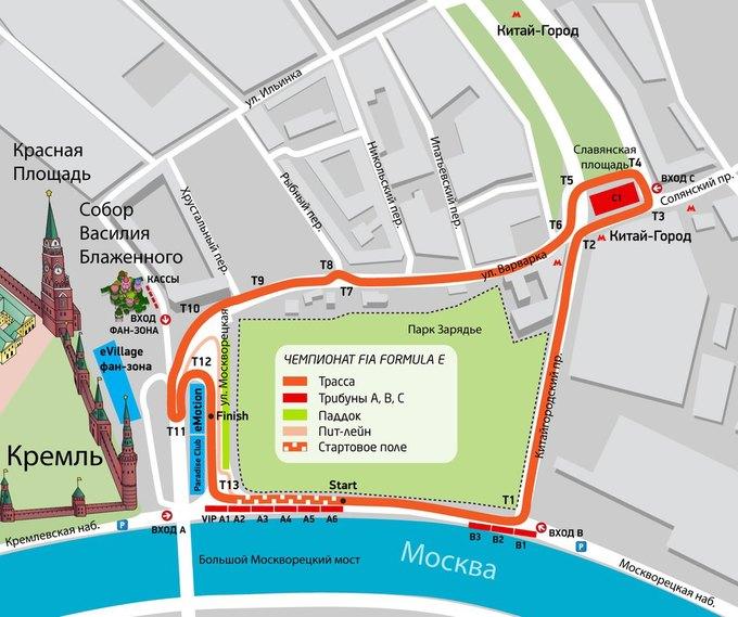 В Москве пройдут гонки наэлектромобилях. Изображение № 1.