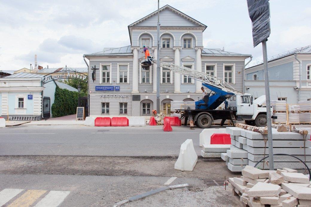 Её раскопали: Пешеходные улицы Москвы за месяц до открытия. Изображение № 23.