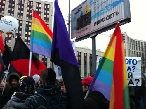 Прямая трансляция: Митинг «За честные выборы» на проспекте академика Сахарова. Изображение № 23.
