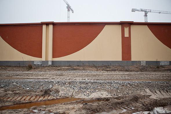 Визуальное решение забора согласовано с архитектурным обликом города Колпино.. Изображение № 4.