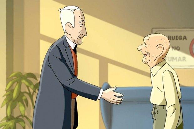 «Морщинки», испанская мультипликационная трагикомедия, действие которой разворачивается в доме престарелых. Изображение № 5.