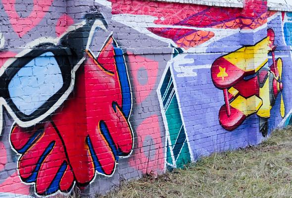 В Киеве появились граффити рекордных размеров. Изображение № 18.