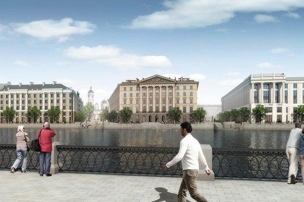 Суд идёт: четыре проекта квартала на месте «Набережной Европы». Изображение № 31.