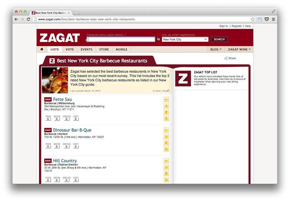 Иностранный опыт: Как Michelin и Zagat выбирают лучшие рестораны. Изображение № 21.
