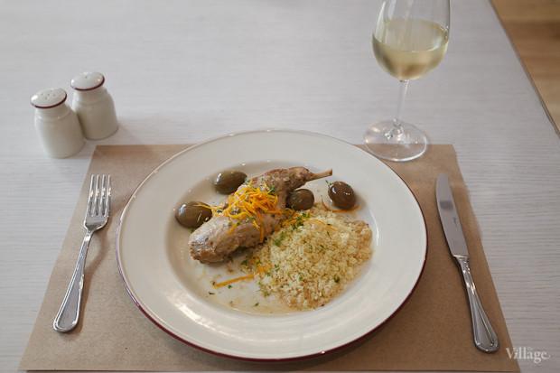 «Лаврано» (ножка кролика, томлённая с маслинами, оливками, специями и кус-кусом) — 470 рублей. Изображение № 24.
