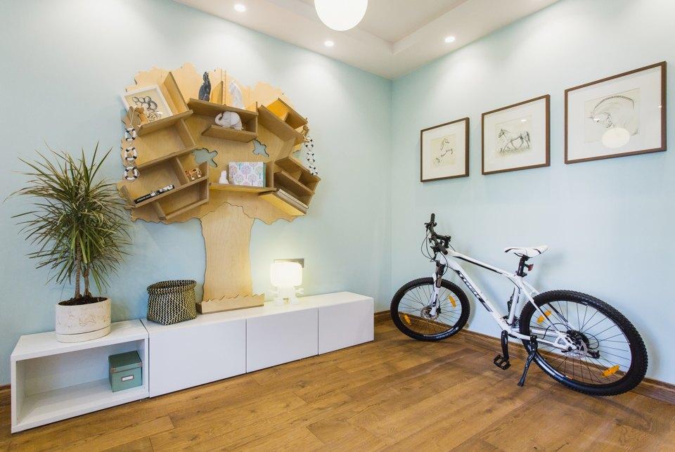Квартира с декоративным камином для семьи сноворождённым . Изображение № 12.