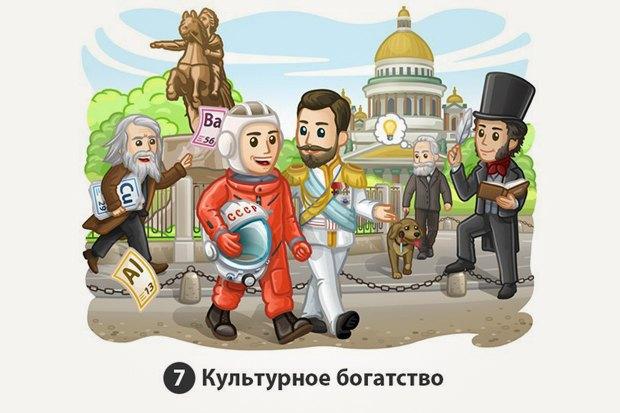 «Россия дала миру десятки великих писателей, архитекторов, композиторов, художников и ученых. Эти люди оставили после себя уникальное культурное наследие, из которого мы можем черпать вдохновение».. Изображение № 7.