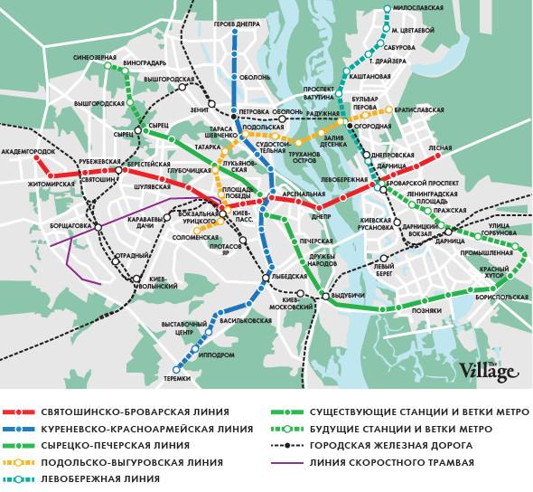 Метро 2025: Киевский метрополитен поделился планами. Изображение № 1.
