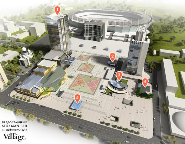 Реконструкция: Как будет выглядеть Троицкая площадь после Евро-2012. Зображення № 2.