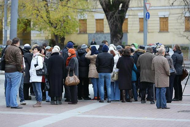 В центре Москвы заработала первая платная парковка. Изображение № 20.