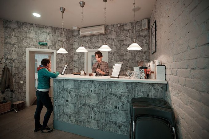 В«Доме Бенуа» открылся кофе-бар Impress. Изображение № 1.