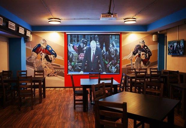 В Приморском районе открылся хоккейный бар. Изображение № 3.