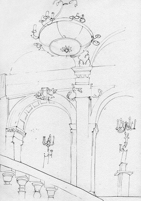 Клуб рисовальщиков: Особняк 1896 года. Изображение № 4.