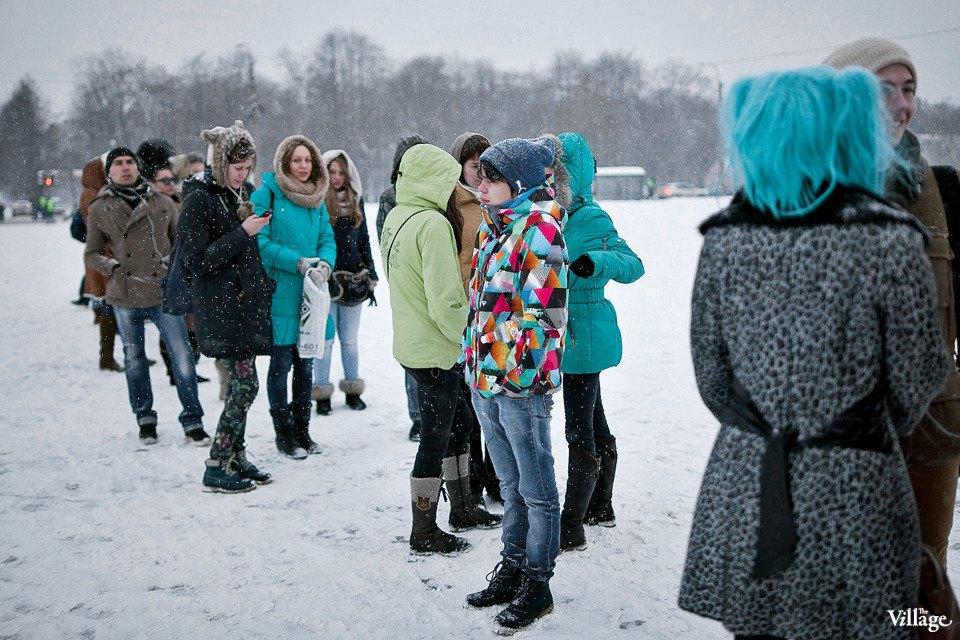 Люди в городе: Посетители концерта Lady Gaga в Москве и Петербурге. Изображение № 4.