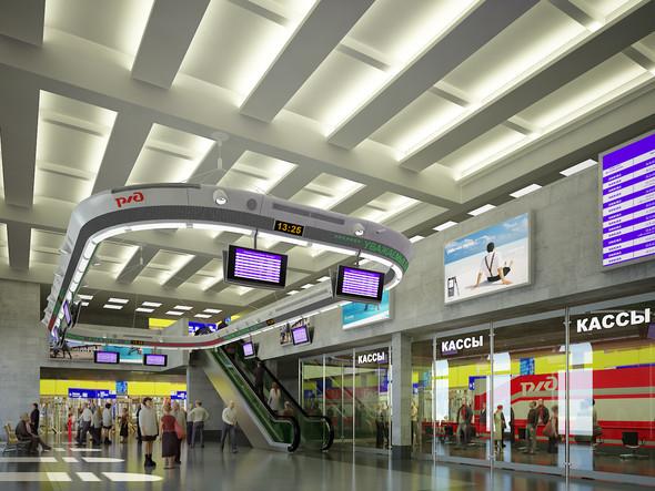 В плане: Реконструкция московских вокзалов. Изображение № 7.