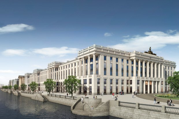 Суд идёт: четыре проекта квартала на месте «Набережной Европы». Изображение №27.