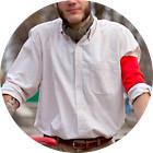 С твидом на город: Участники первого «Ретрокруиза»— о своей одежде и велосипедах. Изображение №64.