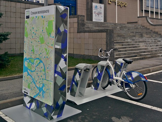 ВПетербурге обновят станции велопроката ипривяжут их к«Подорожнику». Изображение № 1.