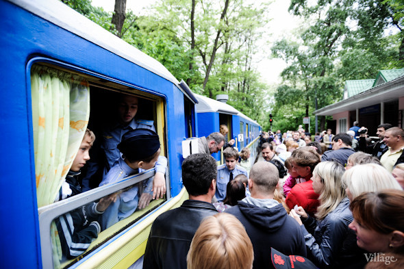 Фоторепортаж: В Киеве открылся сезон на детской железной дороге. Зображення № 35.