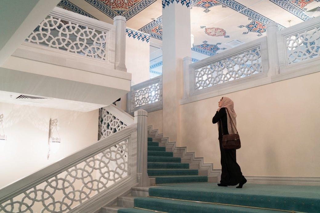 80-метровые минареты иместо для 10тысяч верующих — как выглядит Московская Соборная мечеть. Изображение № 6.